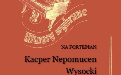 Wysocki – Utwory wybrane na fortepian