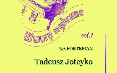 Joteyko – Selected Works for Piano, Vol. 1